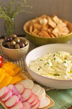 Feta and lemon dip