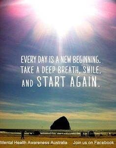 Fresh start - motivation and quotes