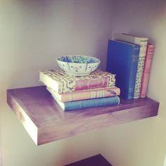 Grant K. Gibson Interior Design-  custom open/floating shelving for client project