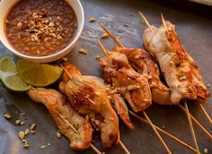Chicken Satay with T