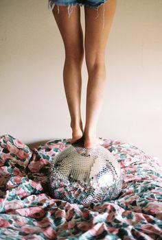disco ball roll