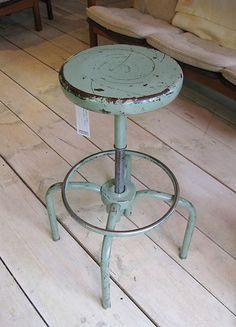 vintage metal #stool
