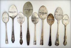 Garden spoon tags