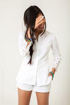 All white - love it!