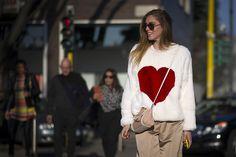 Chiara Ferragni at Milan Fashion Week