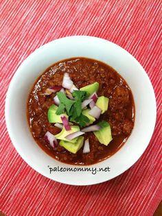 Paleo Mommy : Chorizo Chili