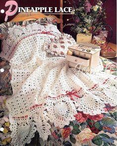 Crochet Pattern Rose Trellis Afghan : Crochet Blankets on Pinterest Afghan Crochet Patterns ...