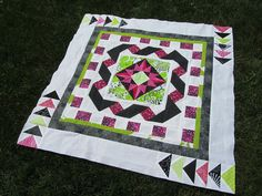 Final Border by A Quilting Jewel, via Flickr