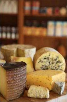Nicelist of wines and the complimentary cheeses