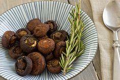 Roasted Cremini Mushrooms with Fresh Herbs