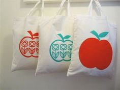 apple bags by Jane Foster