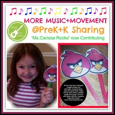 """Ms.Carissa Rocks"" Joins PreK+K Sharing"