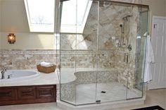 Master bathroom contemporary bathroom