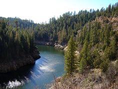 """Blue Ridge Reservoir...""""our camping spot"""""""