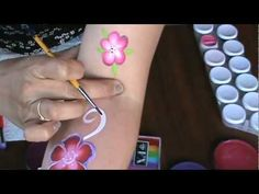 using daubers to make flowers for kids