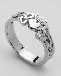 Trinidy Claudaugh Ring....heart symbolizes love, hands-friendship and the crown-loyalty. I want this tattoo