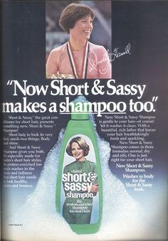 Loved her and the shampoo,lol.