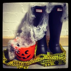 Like or follow us on any of our social platforms and use our Halloween hashtag - #CATrickOrTweet for your chance to #win a pair of @Hunter Boots