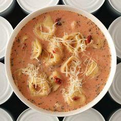 Tomato Tortellini Soup tasteofhome.com