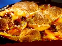 Easy to Gobble Cobbler Recipe : Guy Fieri : Food Network - FoodNetwork.com