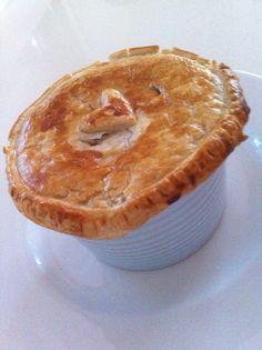 Creamy Chicken & Mushroom Pot Pies