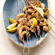 Image of Spanish-Inspired Grilled Shrimp