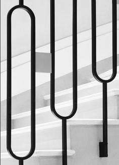 paris, interior, stair rail, stairs, stairway