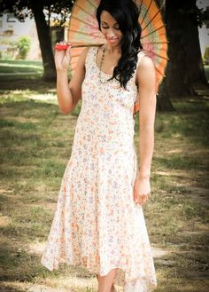 1920s Floral Summer Lawn Party Dress | The Lawn Party Collection from ~ Raleigh Vintage ~