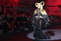 Singapore Designer Frederick Lee's Couture Show at Fide Fashion Weeks 10/13.
