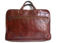 70s ITALIAN BRIEFCASE satchel by lesclodettes on Etsy, $99.00