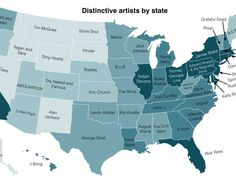 Here's Every State's Favorite Band - Business Insider
