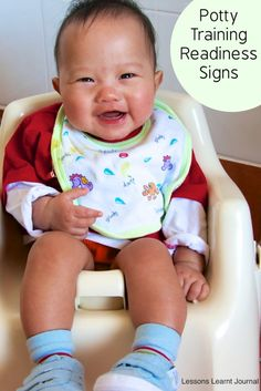 Quick, simple signs of Potty Training Readiness via Lessons Learnt Journal