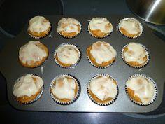 According to Ashley: A Recipe....Pumpkin Muffins with Cream Cheese Glaze