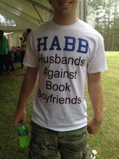 Husbands Against Book Boyfriends