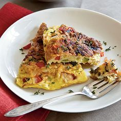 Summer Vegetable Frittata | CookingLight.com