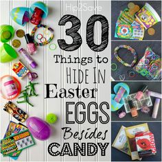 30 Non Candy Egg Filler Ideas Hip2Savean adult easter egg hunt would be fun