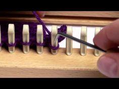 Loom Knitting Basic Bind Off