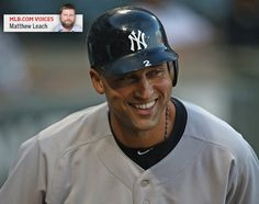 2012-09-08 Jeter enjoying a season for the ageless Most impressive about the year Derek Jeter is having, columnist Matthew Leach says, is that he's doing things never before done by a 38-year-old shortstop.