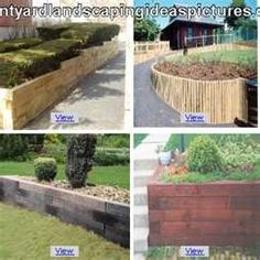 Image Search Results for railroad ties landscaping