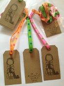 """Handmade with Love"" Knitting Gift Tags (Includes Shipping)"