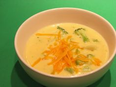 Broccoli Cheese Soup |