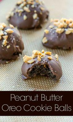 Peanut Butter Oreo Cookie Balls