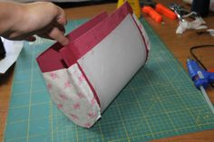 Dragonfly: Tutorial bolso cartonnage