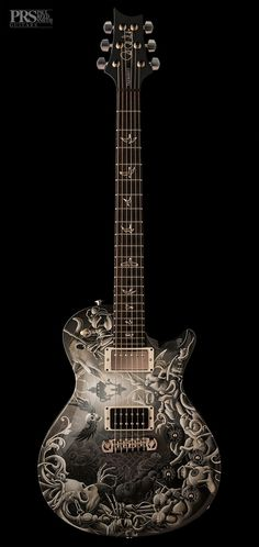 Mark Tremonti PRS Custom illustrated guitar by Joe Fenton lessonator.com #lessonator