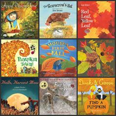 12 Fall Books to Read with Your Kids