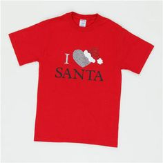 I Heart #Santa T-Shirt #holiday