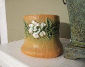 ROSEVILLE Gardenia Square Vase Vessel Planter gardenia squar, rosevill gardenia, squar vase, vessel planter