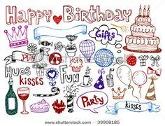 139 Best Birthday Doodles Images On Pinterest Cards Diy