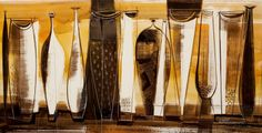 Viktor Schreckengost - Still Life of Bottles