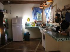 Love this kitchen.  Vacation rental in Cabuya, Costa Rica.